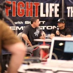 The FIGHT LIFE Las Vegas MGM with TapOut owner Dan Caldwell